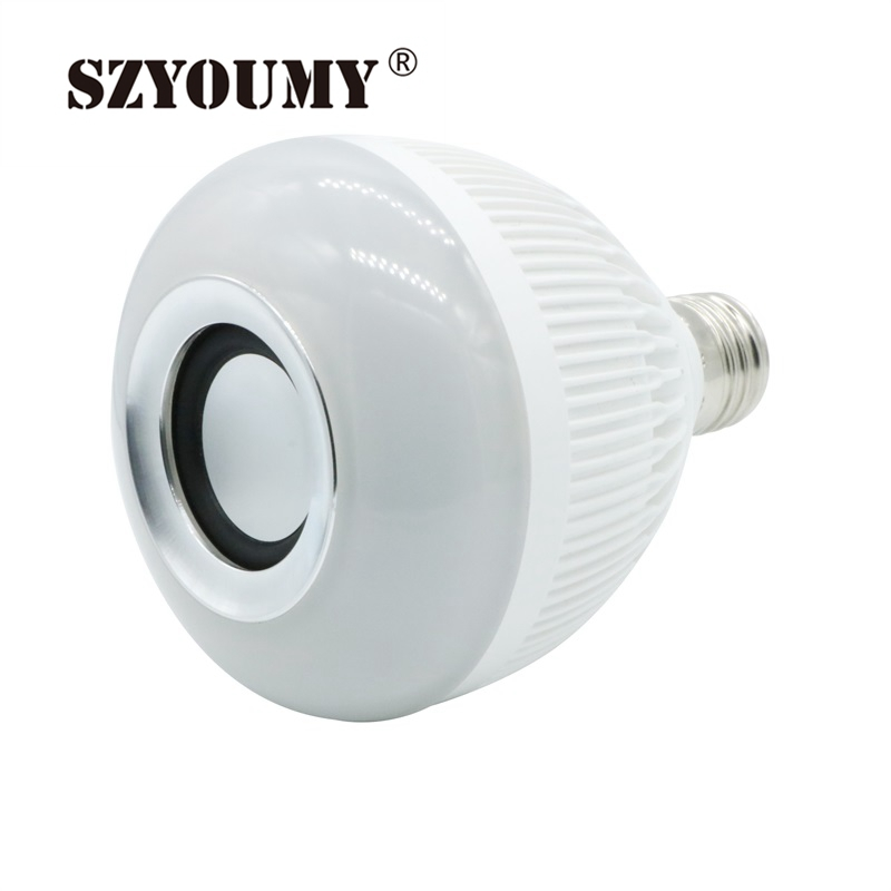 Led Bulbs & Tubes Light Bulbs Industrious Szyoumy E27 Smart Bulb Light Dimmable 12w Rgbw Wireless Bluetooth Speaker Bulb Music Playing Led Light Lamp With Remote Control