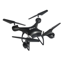 Lf608 Wifi Fpv Rc Drone Quadcopter With 0.3Mp/2.0Mp/5.0Mp Camera Get The Longer Playing Time - Black