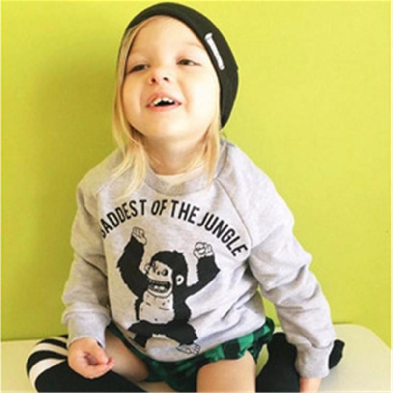 14For Boys Girls Sweater T-Shirts Clothes Autumn Winter New Panda Bear Printing Tops Kids Sweatershirt  Tees Clothing Full Sleeve 6