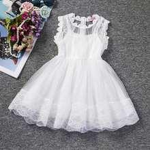 96de10a4c8047 Eté marque 2019 enfants robes pour filles tenue décontracté enfant en bas  âge fille 2 3 6 ans vêtements enfants Tutu princesse b.