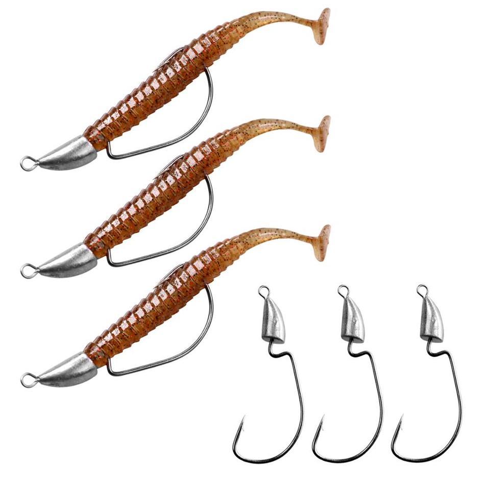 cascabeles sonajero Milepet 40 se/ñuelos de Pesca de Gusano cascabeles de pl/ástico se/ñuelos de Pesca Bola de Metal