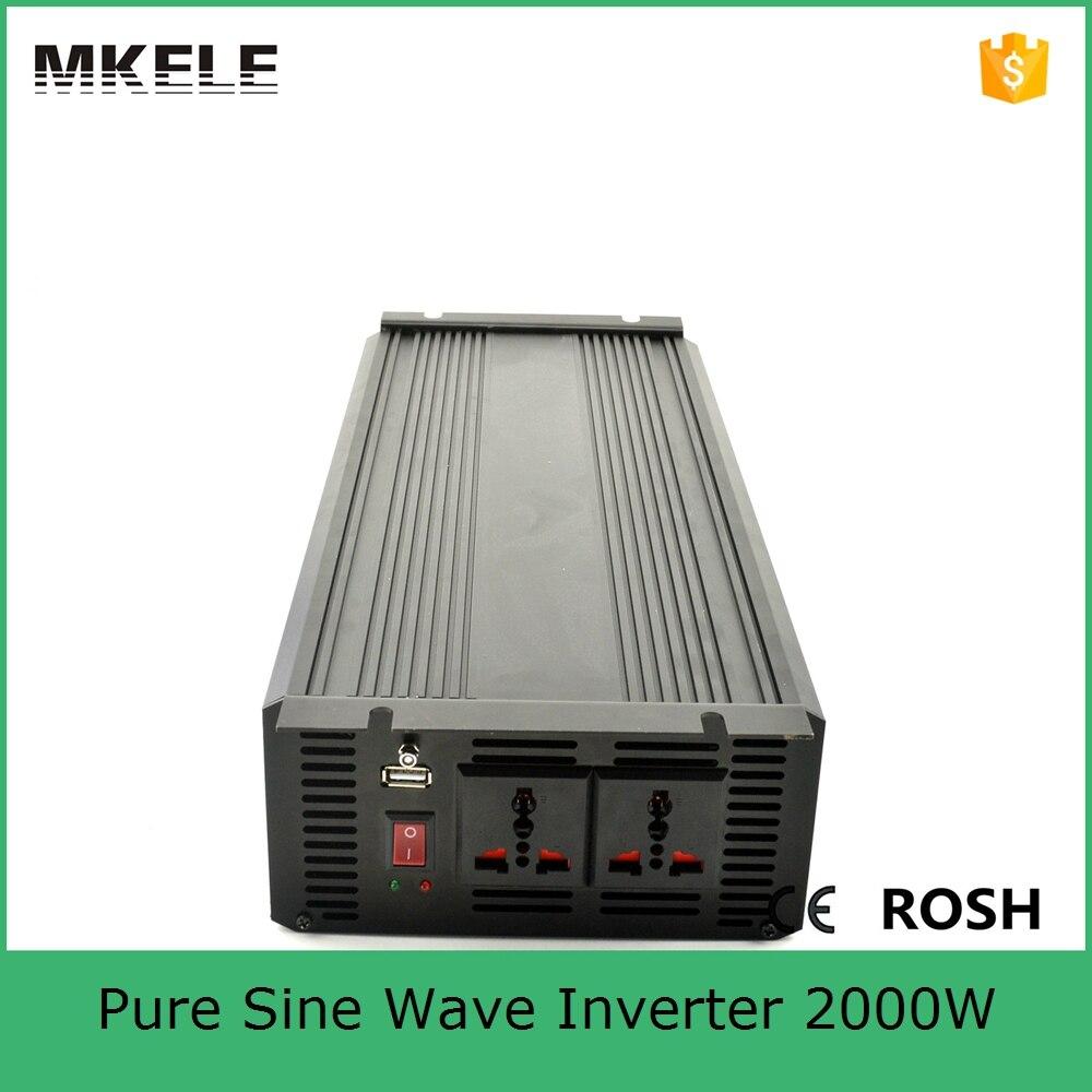 US $186 82 12% OFF|MKP2000 242B off grid pure sine wave inverter circuit  diagram 2000w 24v inverter 220v ac power inverter with cooling fan-in