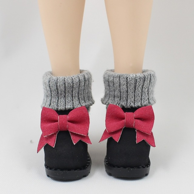 Sepatu Neo Blythe Doll Ikatan Simpul