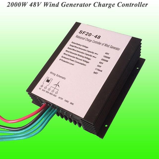 2018 best selling 2000w 48v waterproof wind turbine generator charge 2018 best selling 2000w 48v waterproof wind turbine generator charge controller wind controller wind generator controller