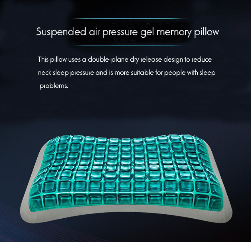 Quality Gel Pillow Slow Rebound Memory Foam Pillows For