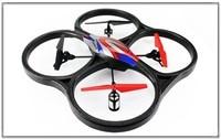 Wltoys V262 2.4 г 4 канала 6 оси RC Quadcopter 51 см крупнейшая r / c helikopter WL игрушки V262 вертолет можно выбрать