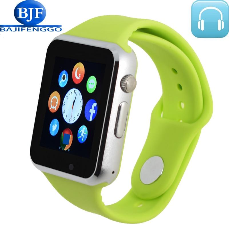 men women smart watch for android bluetooth Sport pedometer Support Whatsapp SmartWatches for Samsung HUAWEI Camera GT08 DZ09 2016 bluetooth smart watch gt08 for