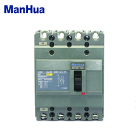 Mahua Automatic EZC 100F 100A 4 Poles Molded Case Circuit Breaker