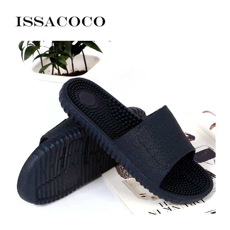 ISSACOCO 2018 Cipele Muškarci Papule Sandale Unutarnja Kućna - Muške cipele - Foto 5