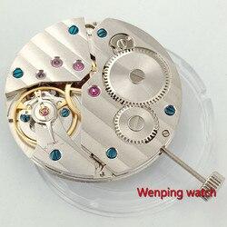 Часы parnis movance, 17 драгоценностей, механические, Азия 6497, ручная работа, подходят для мужчин, наручные часы, мужские P29