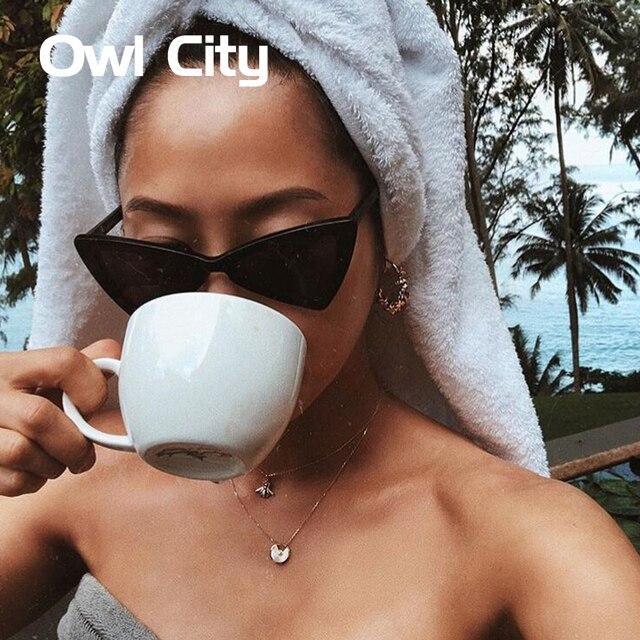 Винтаж Для женщин Солнцезащитные очки для женщин Треугольники черные женские солнцезащитных очков ретро красного цвета очки градиентные линзы Очки
