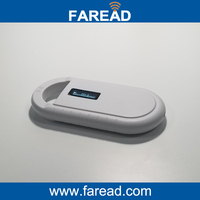 Free Shipping Animal Handheld Reader RFID 134 2KHz FDX B