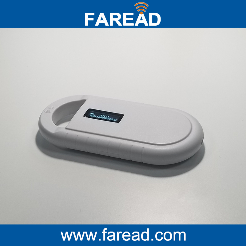 free shipping ISO11785/84 FDX-B Pet Microchip Scanner,  Low Frequency Animal Handheld RFID Reader rfid 134 2khz fdx b id64 iso chip animal handheld reader horse chip scanner