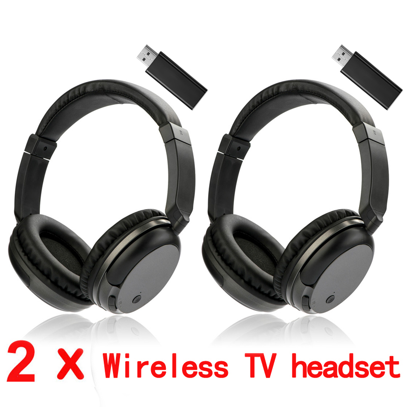 New RF Headphones 3.5mm Wired Headphone for TV Computer Multifunction Wireless Headset with FM Radio for MP3 PC TV Audio hot new 5 in 1 hi fi wireless headset headphone earphone for tv dvd mp3 pc r179t drop shipping