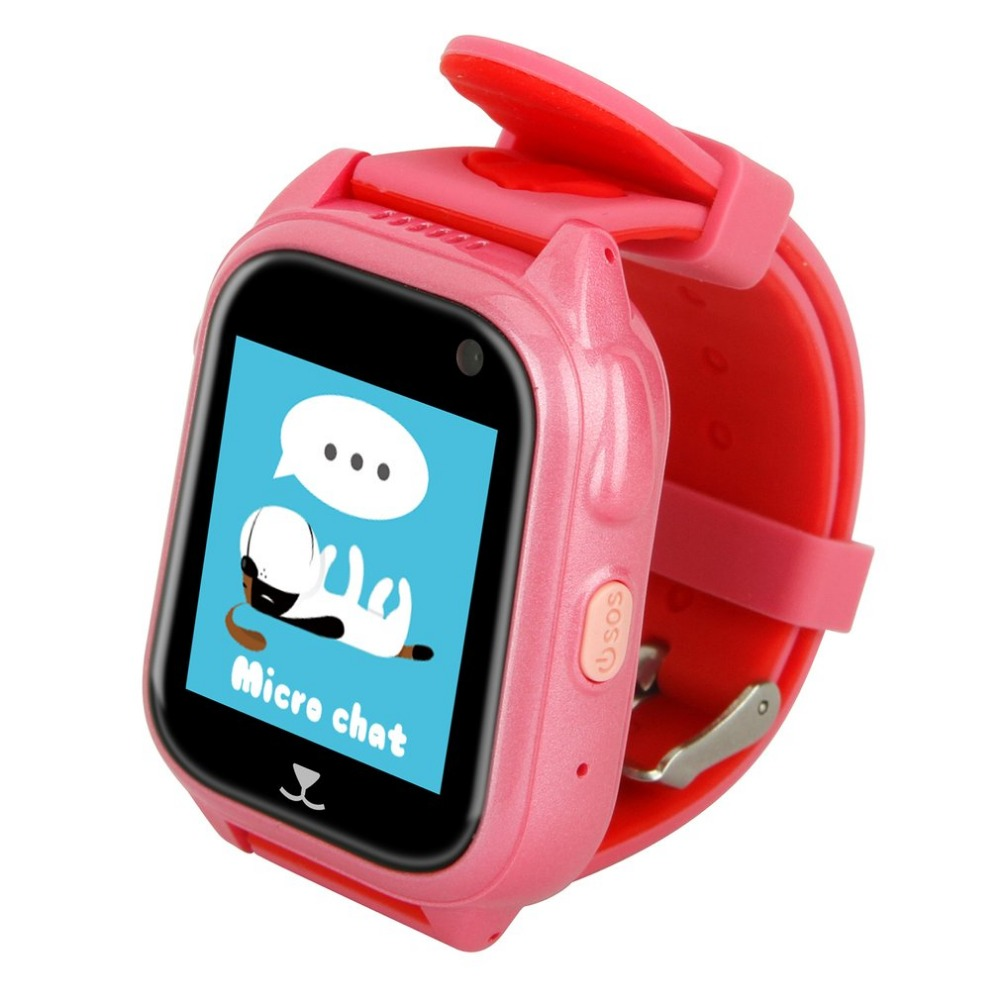 GENBOLI GPS Tracker Children Watch Anti Lost SOS Call Kids Smart Watch Child Watch Tracking Bracelet Smartwatch Support SIM Card 1pcs 2017 new gps tracking watch for kids q610s baby watch lbs gps locator tracker anti lost monitor sos call smartwatch child page 6