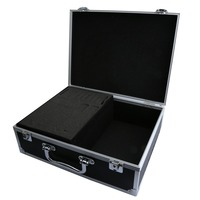 New Pro Black Aluminum Alloy Tattoo Machine Gun Box Case Tattooing Kits Tattoo Supply Permanent Makeup