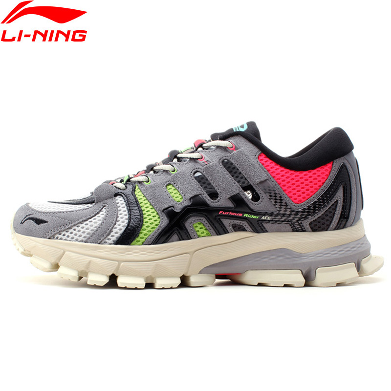 Li Ning Men PFW FURIOUS RIDER ACE Professional Running Shoes Wearable Cushion LiNing Stable Sport Shoes