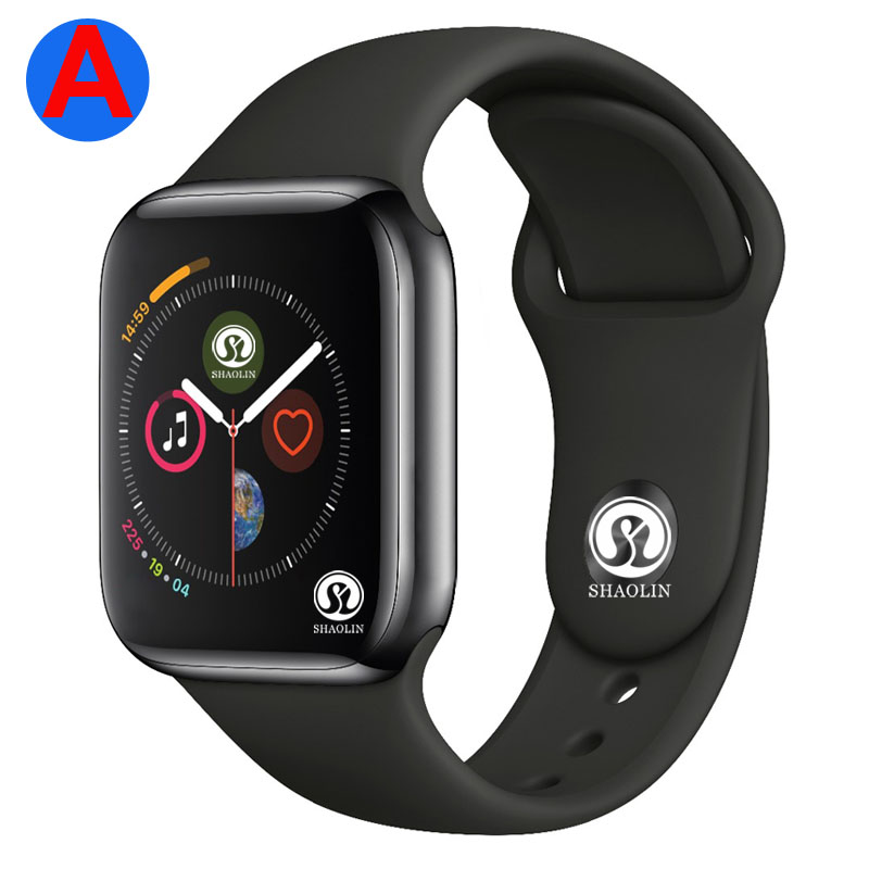 A Smartwatch Series 4 Bluetooth Smart Watch Men with Phone Call Remote Camera for IOS Apple