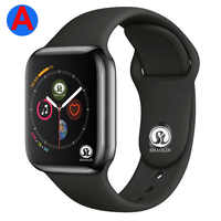 A Smartwatch Series 4 Bluetooth Smart Watch Men with Phone Call Remote Camera for IOS Apple iPhone Android Samsung HUAWEI