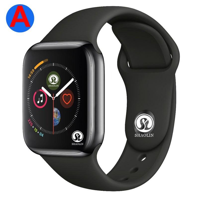 Un Smartwatch serie 4 Bluetooth inteligente reloj de los hombres con llamada de teléfono cámara de control remoto para IOS Apple iPhone Android Samsung HUAWEI