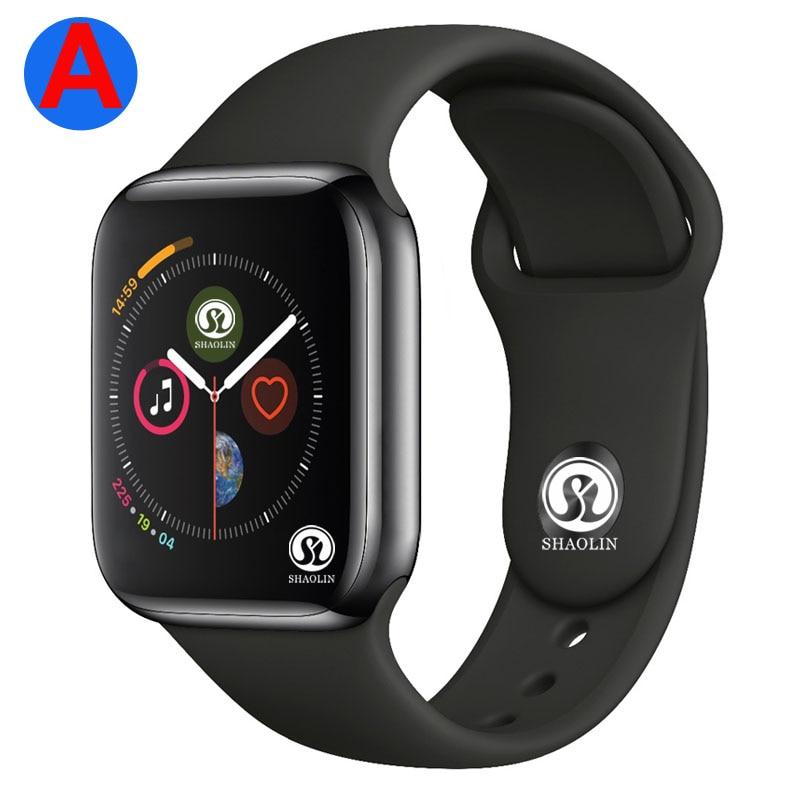 Una Serie di 4 Smartwatch Bluetooth Intelligente Della Vigilanza Degli Uomini con il Telefono di Chiamata A Distanza Della Macchina Fotografica per IOS di Apple iPhone Android Samsung HUAWEI