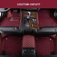 Custom Car Floor Mats For Chrysler 300c 3D Car Styling Heavy Duty All Weather Protection Car