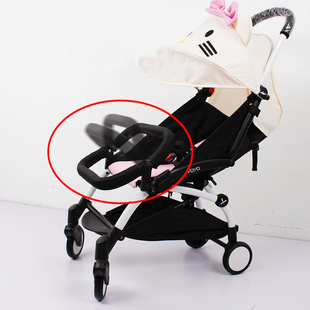 Baby Stroller Adjustable Armrest Bumper Cart Bar Safety Carriages For Infant YOYA Babyzen YOYO Stroller Cart Accessories