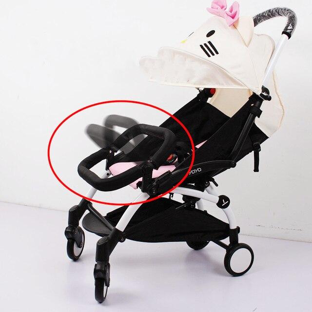 Baby Stroller Adjustable Armrest Bumper Cart Bar Safety Carriages For Infant YOYA Babyzen YOYO Stroller Cart Accessories
