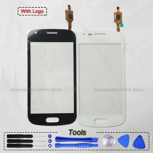 For Samsung Galaxy Fresh Duos S7390 S7392 GT-S7390 Repair Parts Original Touch Screen Glass Panel Lens Digitizer