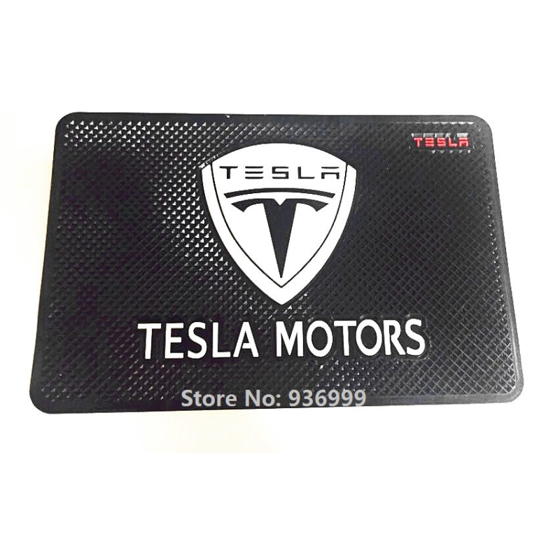 Tappetino antiscivolo adatto per Tesla Model S Roadster Model X Modello 3 P85D 70D P85 85D Car Styling Accessories
