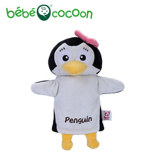 Bebecocoon Marioneta  Pingüino  Lazo Rosa