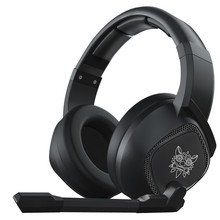LEORY K19 RGB LED אור USB משחקים שחור אוזניות 2.1m סטריאו הפחתת רעש Wired אוזניות אוזניות עם מיקרופון
