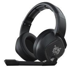 LEORY K19 RGB светодиодный светильник USB Игровые наушники, черные наушники 2,1 м Стерео шумоподавление проводные наушники гарнитура с микрофоном