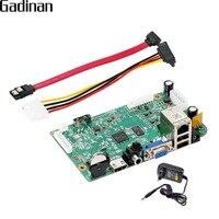 GADINAN CCTV NVR Main BOARD Hi3536D H 265 H 264 Network Video Recorder 8 Channel 4