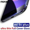 "Xiaomi mi5s plus vidrio 3d completo mi 5S más creen protector ultra fino de mofi para xiomi 5S plus 5.7 ""protector de pantalla transparente"