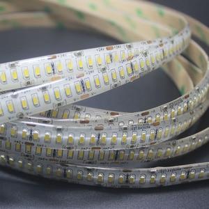 Image 5 - Bande lumière lumière, blanc chaleureux, blanc naturel, 5M 1200LED S 24V 3014 bande LED SMD LED, 12 14LM 240LED/M, ligne or ruban LED LED