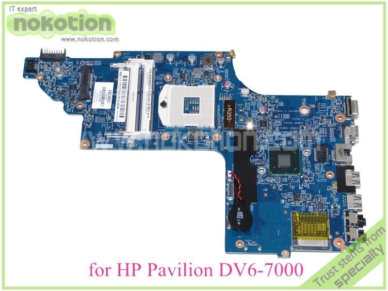 48.4ST04.021 682176-001 682176-501 For hp pavilion DV6-7000 DV6 Laptop mothboard HD4000 15.6'' ddr3
