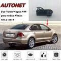AUTONET Backup câmara de Visão Traseira Para Volkswagen polo sedan VW Vento 2016 2017 2018 Alça Tronco Câmera de estacionamento HD noite visioin