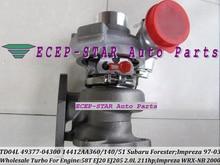 Free Ship TD04L 49377-04300 14412-AA140 Turbo Turbocharger For SUBARU Forester Impreza WRX-NB 98-03 58T EJ20 EJ205 2.0L 211HP