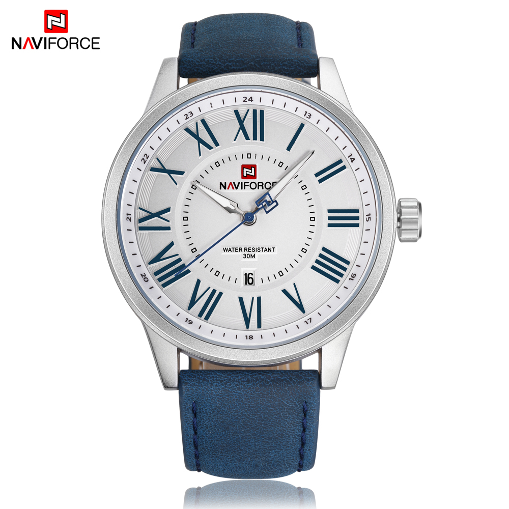 NAVIFORCE top Luxury Brand Sport Watch Business Casual Men Watches Waterproof Male Clock Quartz Wristwatches Relogio Masculino