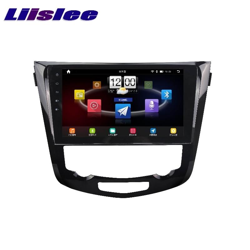 For Nissan X Trail Rogue 2013~2017 LiisLee Car Multimedia TV DVD GPS Audio Hi Fi Radio Stereo Original Style Navigation NAVI