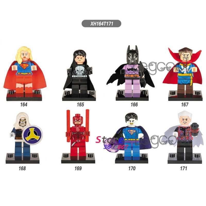 1 قطعة نموذج اللبنات عمل خارقة المعاقب باتمان المسخر بيزارو جامع لعب للأطفال هدية