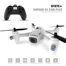 Original Hubsan X4 Plus H107C+ H107C Plus 2.4Ghz Headless Mode RC Quadcopter Drone w/ 720P Camera RTF & Altitude Hold RTF
