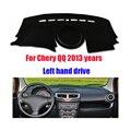 Para Chery QQ dashboard mat pad protetor dash covers mat Photophobism Pad carro styling acessórios 2013 movimentação da mão Esquerda