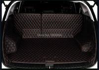 For 2015 2017 HYUNDAI TUCSON 3TH Rear Tail Car Trunk Mat Durable Boot Carpets Full Coverage
