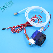 3D Printer  V5 J-head Hotend with Single Cooling Fan for 1.75mm/3.0mm  Direct Filament Wade Extruder 0.2mm/0.3mm/0.4mm Nozzle