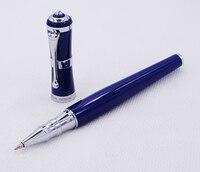 Fuliwen 2051 металлическая шариковая ручка, свежий модный стиль тонкая точка 0,5 мм Красивый синий для Офис Дом школа, мужчины и женщины