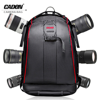 CADeN DSLR Camera Backpacks Video Photo Digital Camera Bag Case Waterproof Travel Backpack Bags For Canon