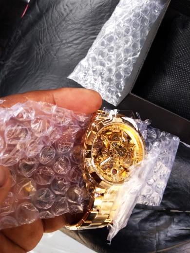 HTB1ncIBaoLrK1Rjy1zbq6AenFXaZ Forsining 2018 Fashion Retro Men's Automatic Mechanical Watch Top Brand Luxury Full Golden Design Luminous Hands Skeleton Clock