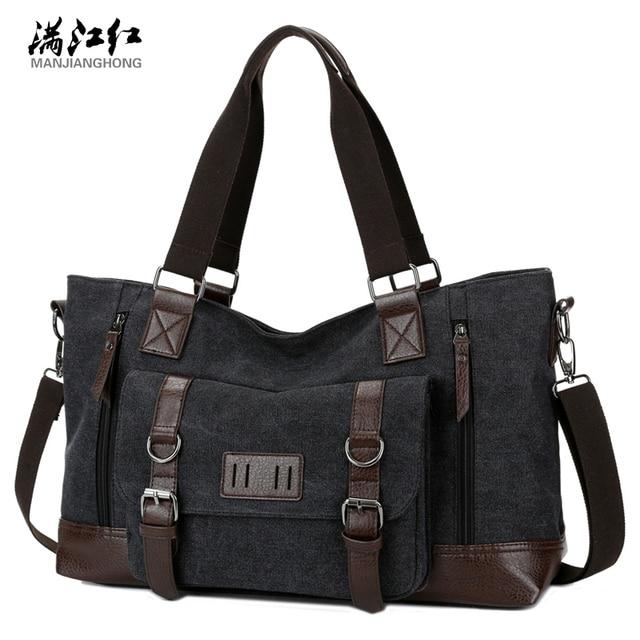 Fashion 2017 men messenger bag canvas body men and women are all large-capacity travel handbag cross classic classic handbag
